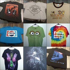 10 T-SHIRT BUNDLE Reseller bulk lot random mystery